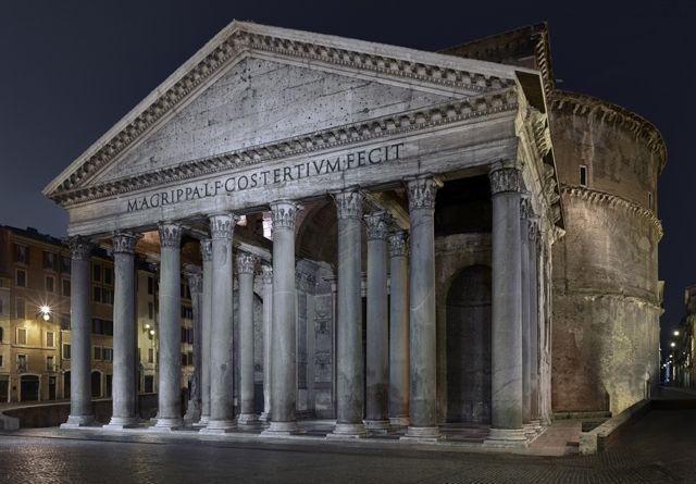 Altamira. Blog de Historia del Arte, por Antonio Boix.: Comentario. El Panteón de Roma (118-125 dC), de Apolodoro de Damasco.