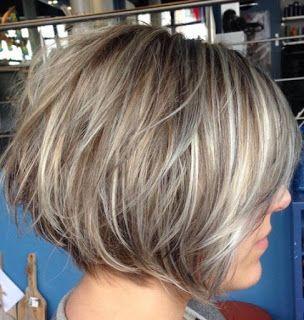 Bob frisur fur graue haare