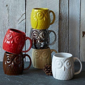 Figurative Owl Mug owl