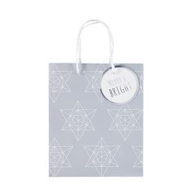 Medium Stars Christmas Gift Bag