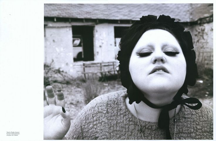 Beth Ditto and Blake Kuchta for Pop Fall/Winter 2007