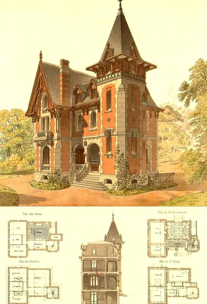 Pin By Loveforkuja On Fantasy Architecture Scenery In 2020 Victorian Architecture Gothic House Architecture Drawing