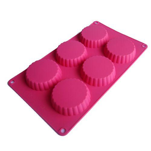 Herramientas de la torta 6 hoyos pastel de luna molde de pastel de forma en…