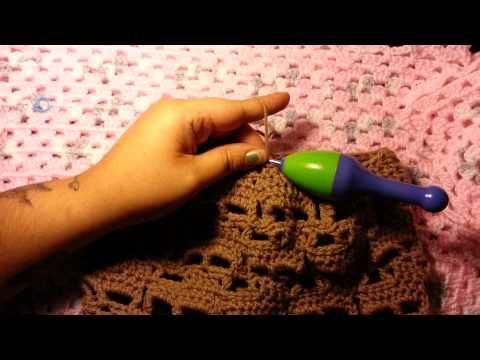How to: Crochet Skull Beanie - YouTube