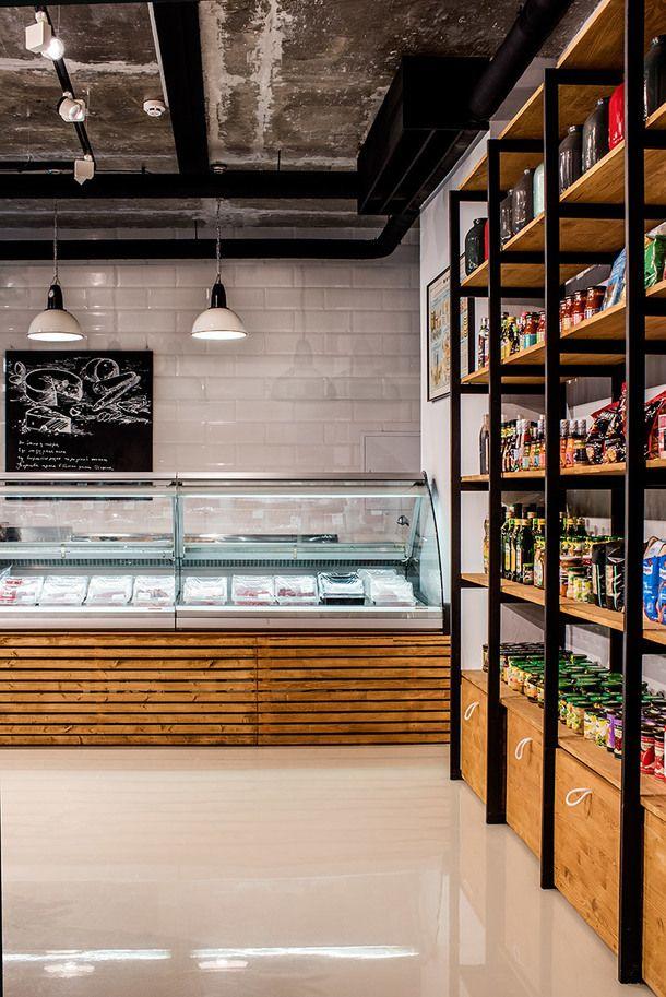 Проект дизайнера Игоря Куркина: магазин фермерских продуктов в Красногорске | AD Magazine