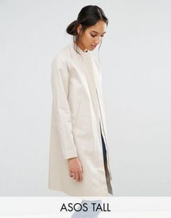 ASOS ASOS TALL Trench with Minimal Styling Found on my new favorite app Dote Shopping #DoteApp #Shopping
