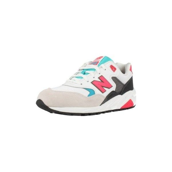 New Balance WRT580 PA Shoes (Trainers) (155 NZD) ❤ liked on Polyvore featuring shoes, sneakers, trainers, white, women, new balance shoes, white trainers, new balance footwear, new balance trainers and white shoes