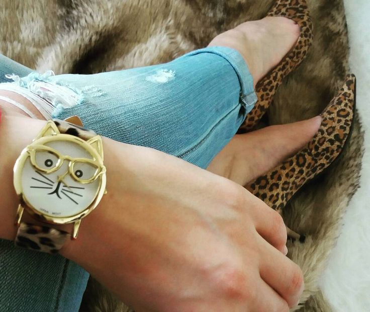 #outfit #fashion #blogger #style #fotd #ootf  cat watch, leopard print