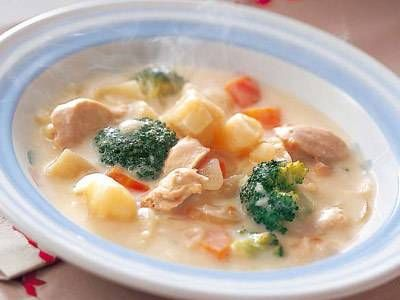 クリームシチューレシピ 講師は山内 けい子さん|使える料理レシピ集 みんなのきょうの料理 NHKエデュケーショナル