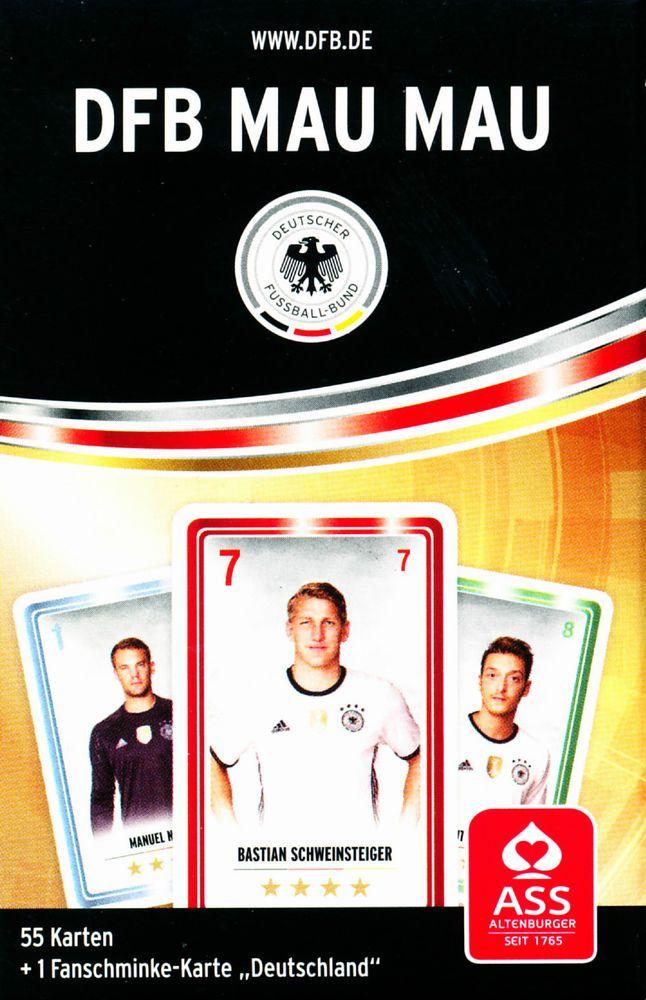 **MAUMAU** Fußball-Europameisterschaft 2016 Frankreich/France,Kartenspiel,Rewe (14.01.2017)