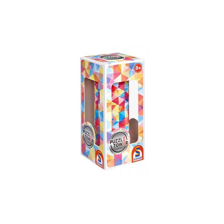 Kirakó torony- Absztrakt, Puzzle Tower Abstract, logikai játék 8 éves kortól - Schmidt Spiele