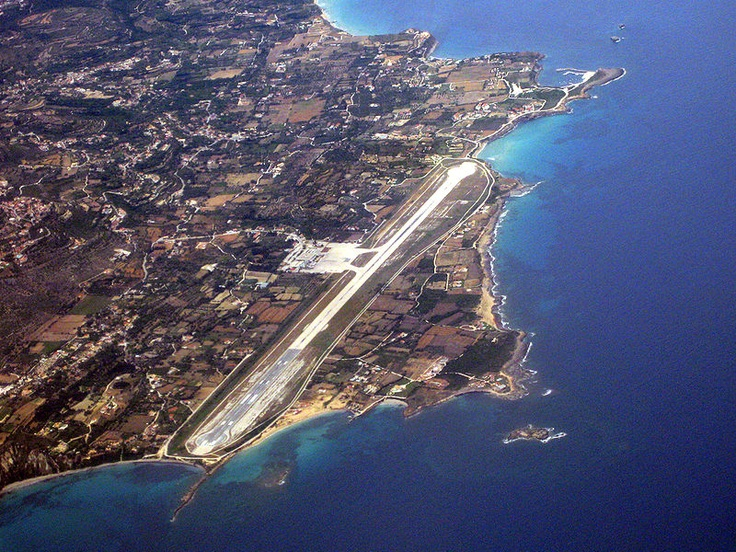 Kefalonia Airport, the most practical design on Earth! Been there!