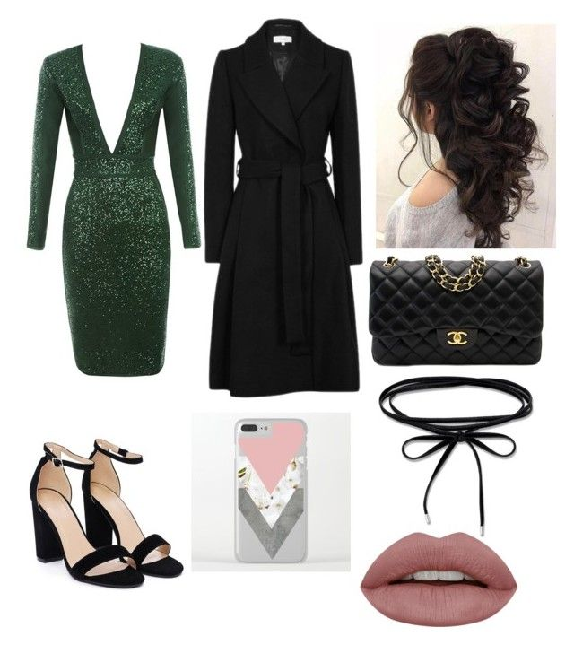 """""""Sans titre #43"""" by audree-bellefleur on Polyvore featuring mode, Nasty Gal et Chanel"""