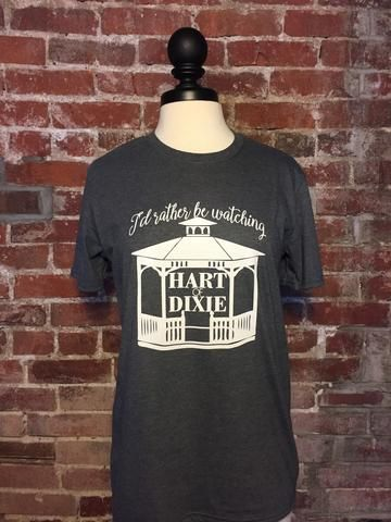 Let's be honest, I would rather be watching Hart of Dixie. I mean how could I not? Two words: Wade Kinsella  Pair this triblend tee with your favorite jeans and boots for a Zoe Hart worthy outfit.   Our Hart of Dixie t-shirts are available at www.livesimpleshop.com