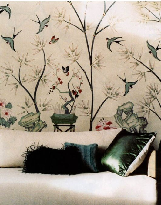 爱 Home Decor In Chinoiserie Style   Chinoiserie Wallpaper Series Fromental