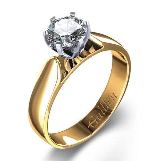 #wedding #ring #diamond by Guillen Joyeros #anillo de compromiso #diamante #bodas