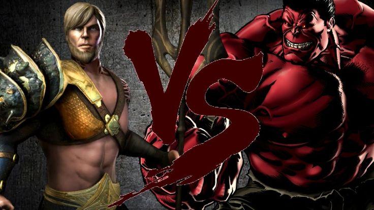 АКВАМЕН против КРАСНОГО ХАЛКА | AQUAMAN vs RED HULK [CT Fight Club | DC ...