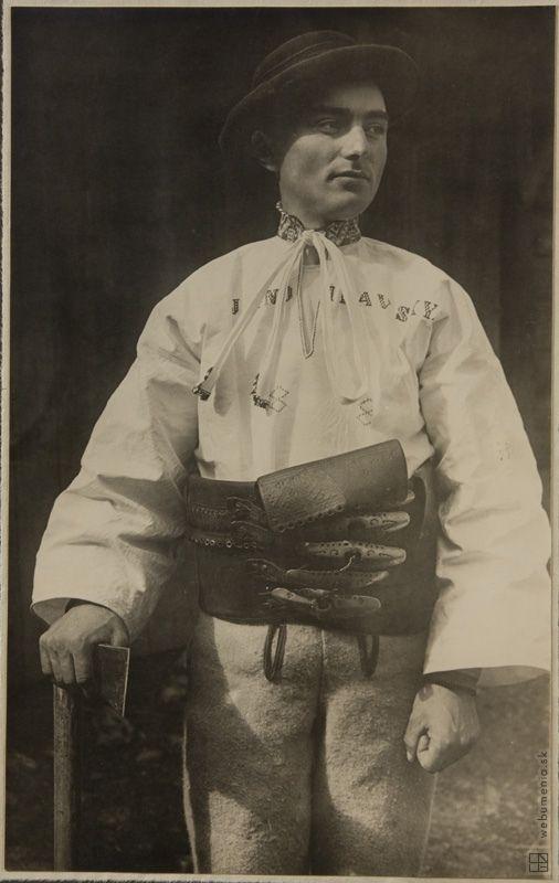 Karel Plicka,Slovakia,Važec - Liptov:1928