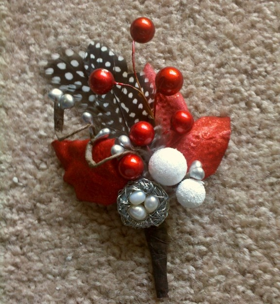 bling boutonniere - Google Search