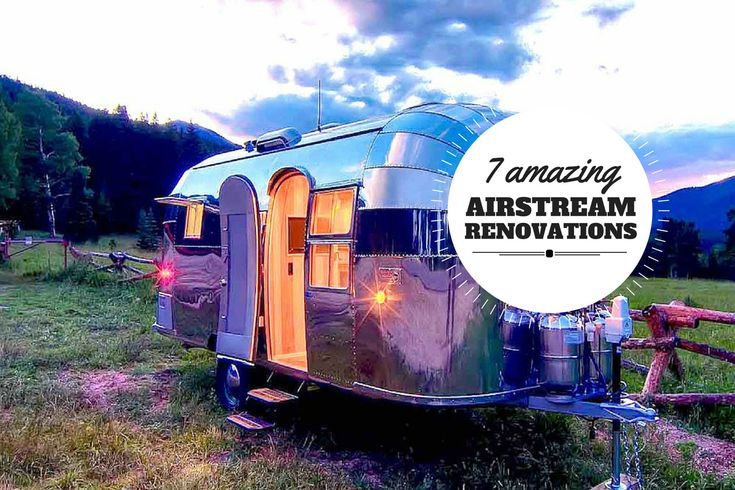 7 retro-chic Airstream renovations