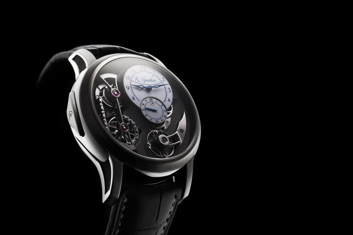 Introducing the Romain Gauthier Logical One Natural Titanium - one of the rare ultra-high-end watches in titanium (specs