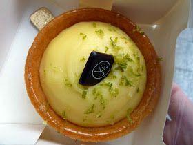 Tarta de limon de Eric Kayser, lugar que hay que conocer en la Rue Montorgueil