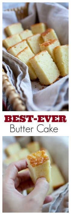 Butter Cake - BEST-EVER rich, loaded, sweet, extremely buttery butter cake. The only butter cake recipe you need, must try | http://rasamalaysia.com