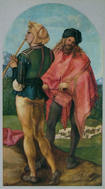 Piper and Drummer Albrecht Dürer,1503