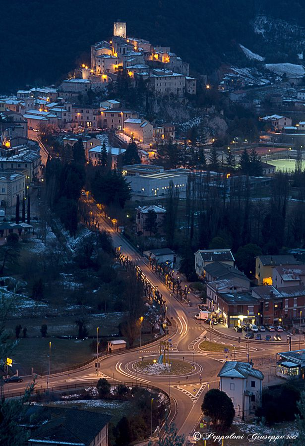 Arrone, one of the most beautiful villages in Italy Vanerina, Terni, Umbria, Italy