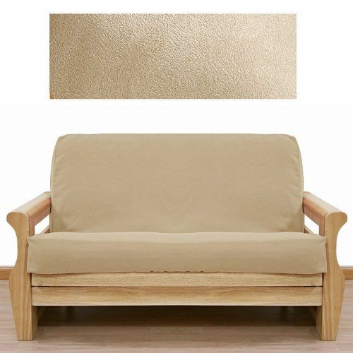 Ultra Suede Cream Futon Cover Chair 639 by SlipcoverShop. $59.00. In Stock - Ships within 2 days. Made in USA.. See Sizing and Product Description below. Made to fit Chair size futon mattress measuring 28 inches wide, 54 inches long and up to 8 inches thick. Futon cover features 3 sided, concealed zipper construction. Made in USA. Ultra Suede Cream fabric is extremely durable, luxurious and soft to the touch. Offers lush feeling of suede with out the high price. Unbelieva...