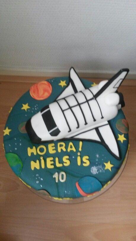 Spaceshuttle taart