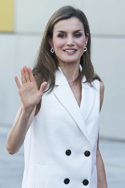 Queen Letizia attends 'Famelab' 2017 at the Museo Nacional de la Ciencia y Tecnologia (MUNCYT) in Madrid