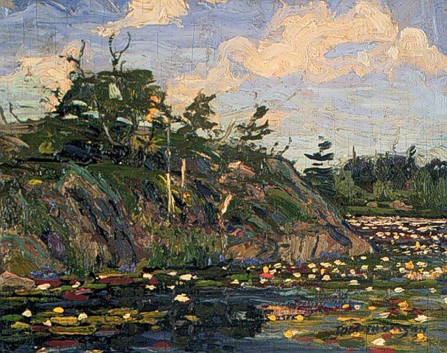 Tom Thompson...The Lily Pond