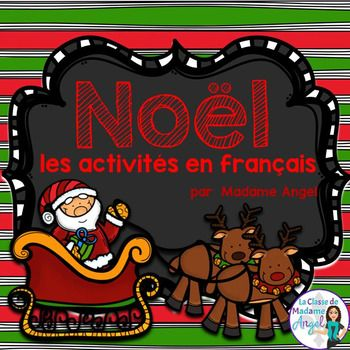 Noël est arrivé! Ready for some Christmas themed vocabulary fun? This package features 30 word wall cards with key Christmas vocabulary. 7 center style activities give students the chance to practice spelling, writing and using the vocabulary and a package of additional printable pages make this product an excellent addition to your Christmas themed learning activities!