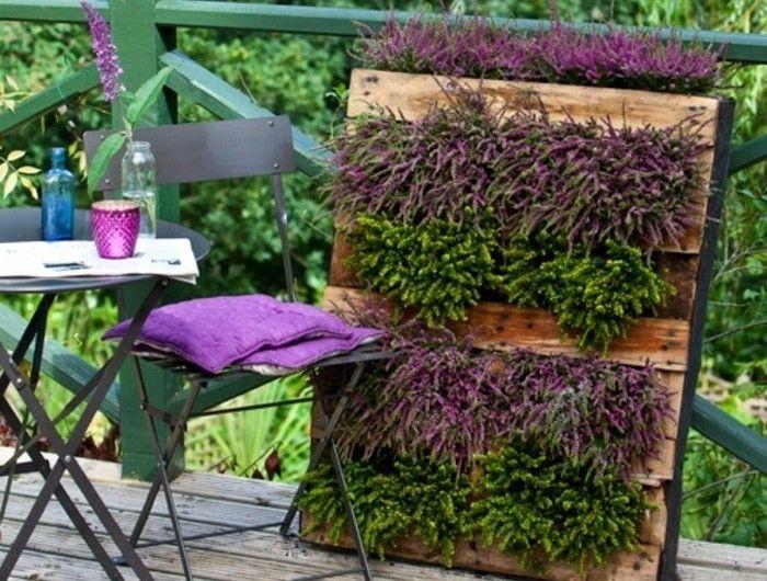 superb comment faire un jardin vertical 12 le mur vgtal en palette ides - Comment Faire Un Jardin Vertical