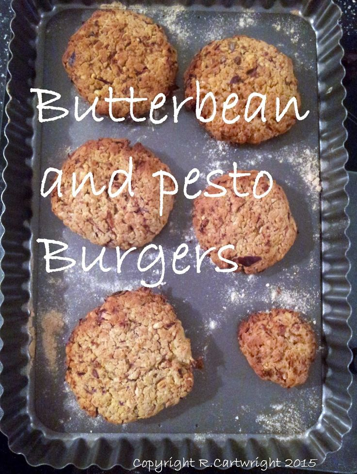 Craft with Ruth Cartwright: Butterbean and pesto burger recipe