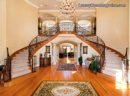 37 best Luxurious stairs images on Pinterest | Banisters, Grand ...