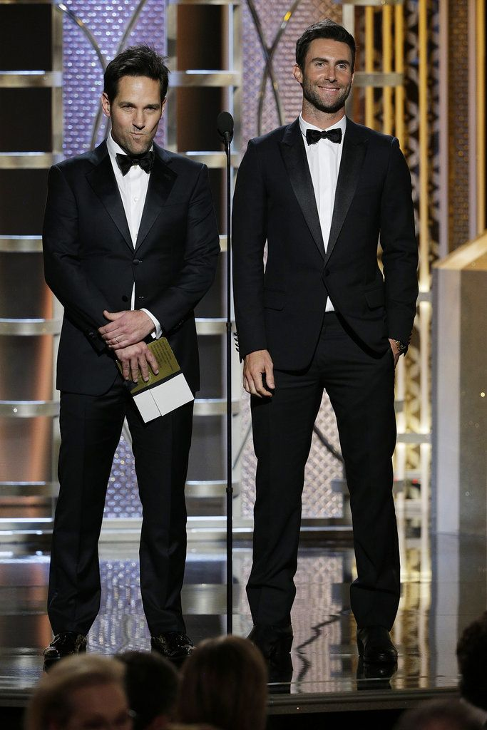 Paul Rudd and Adam Levine