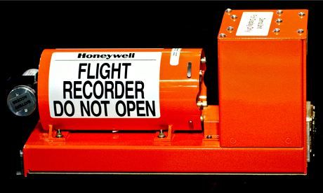 A black box flight recorder: they are a shade called international orange, which makes them easier to spot. Photograph: Bloomberg/Getty Imag... The Guardian http://www.theguardian.com/world/2014/mar/31/airplane-black-box-flight-recorders-investigators