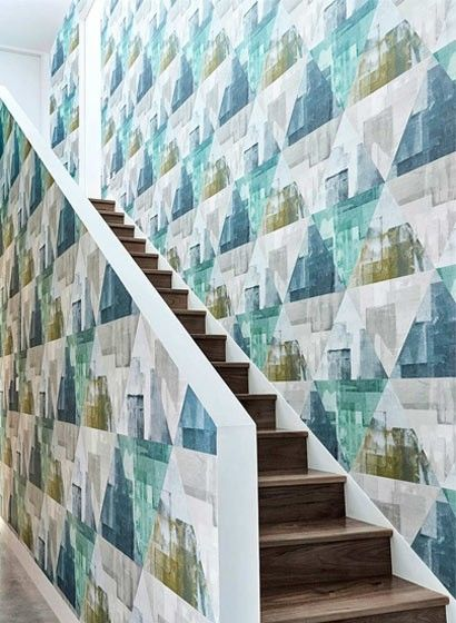 14 best tapete images on Pinterest Rugs, Blue and Wall murals - retro tapete wohnzimmer