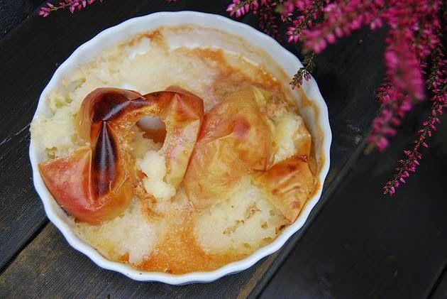 Barnematbloggen: Bakt eple med pære, kanel og mandelfyll
