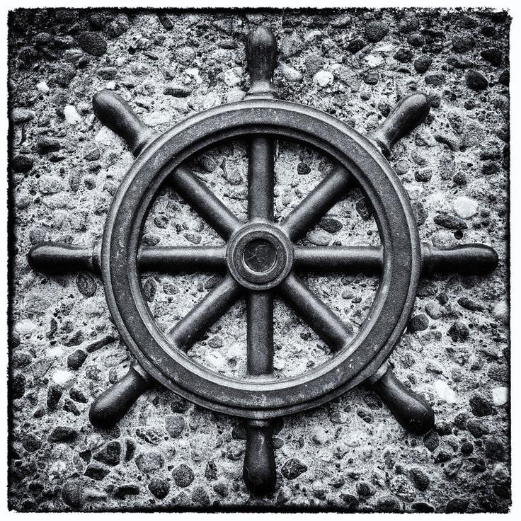 Seattle, Washington - nautical artwork - photo by Aaron Hockley