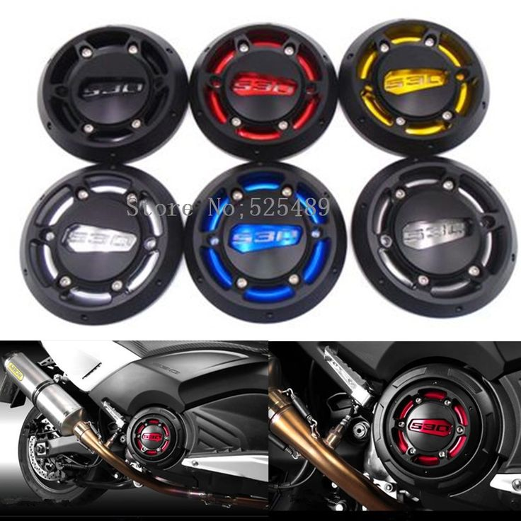 26.69$  Watch here - http://alib4c.shopchina.info/go.php?t=32676282884 - 5 Colors CNC Motorcycle Engine Stator Cover Engine Protective Cover Protector Accessories For Yamaha T-Max 530 500 TMAX 530 500 26.69$ #magazine