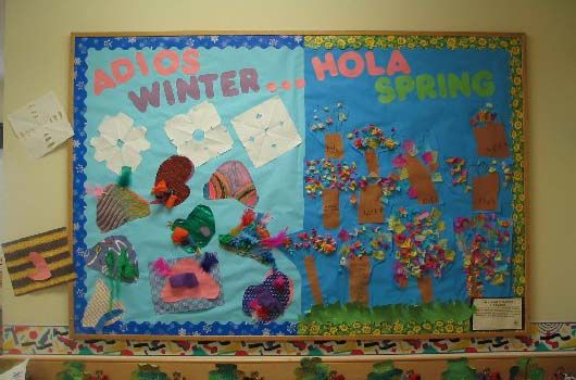Spanish Classroom Ideas | Good-bye Winter... Hello Spring by Lisa Hill, Radford, VA