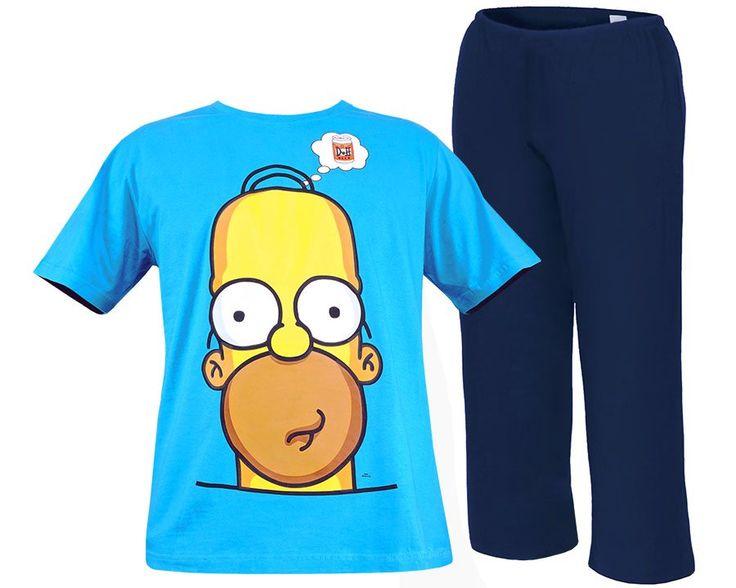 "Męska piżama Simpsonowie ""Homer"" L"