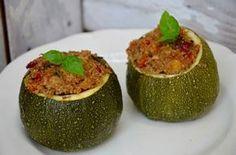 Courgettes farcies au quinoa et aux légumes