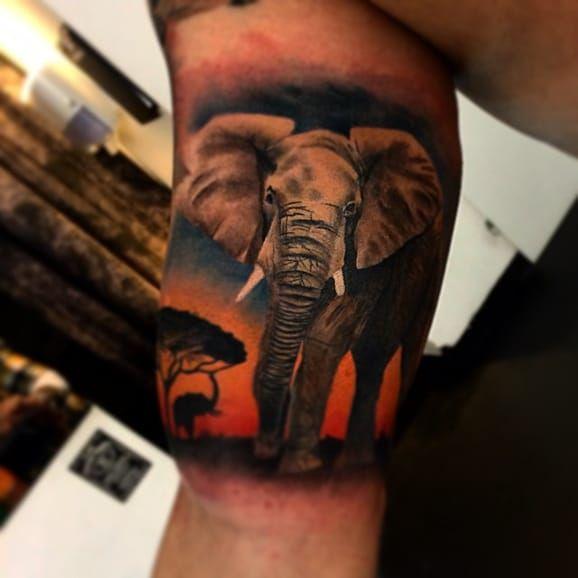 20 Powerful Africa Tattoos | Tattoodo.com