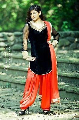 Ladies Designer Indian Bollywood Ethnic Patiala Salwar Suit Women Party Wear