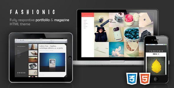 Fashionic - Ajax Portfolio Magazine HTML Theme - Portfolio Creative