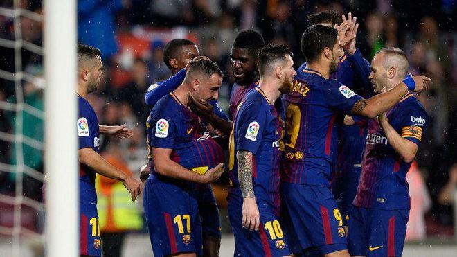 Barcelona, PSG y City, los intocables de Europa | Marca.com http://www.marca.com/futbol/2017/11/08/5a02151546163fa3218b4639.html